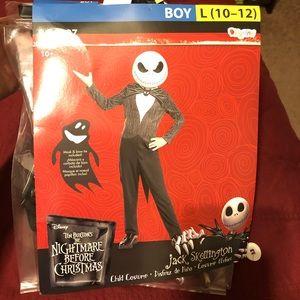 Jack Skellington child costume!